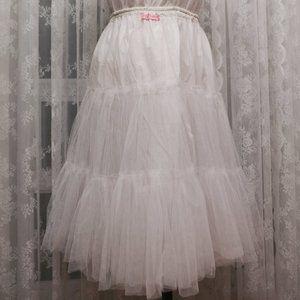 Candy Rainbow - Petticoat - White - Lolita